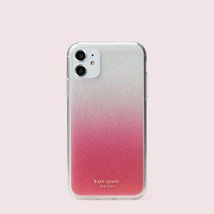 KATE SPADE Pink Glitter Ombre 11 PRO MAX Case